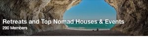 Retreats and Top Nomad Houses & Events
