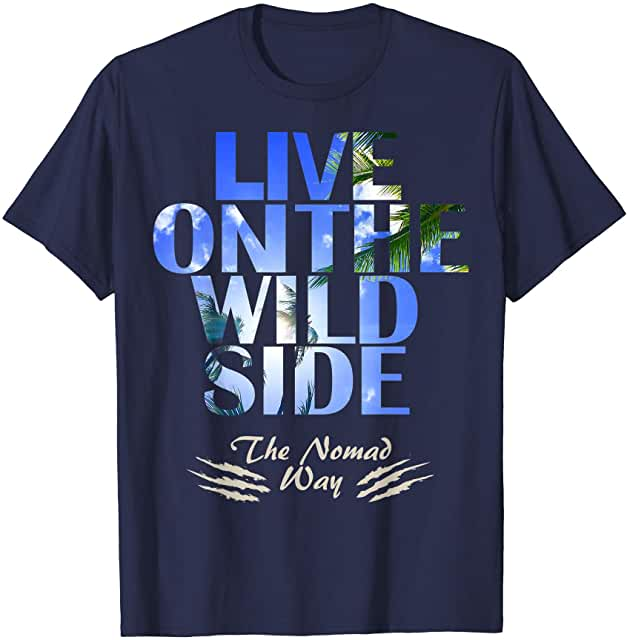 wild side Beachside Dream 1Ready T shirt - Freedom Road Amazon Merch Nomad T-shirts