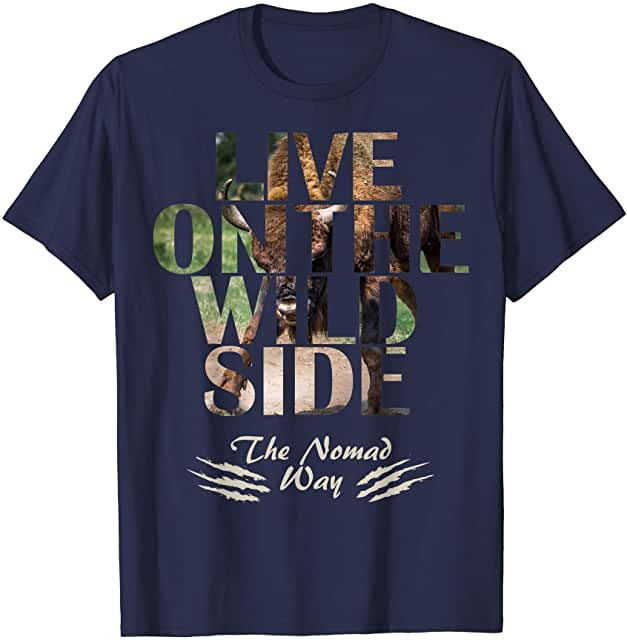 wild side Bison ready BB 01 T shirt - Freedom Road Amazon Merch Nomad T-shirts