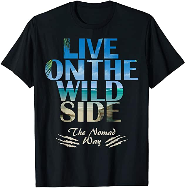 wild side Castaway 1Ready T shirt - Freedom Road Amazon Merch Nomad T-shirts