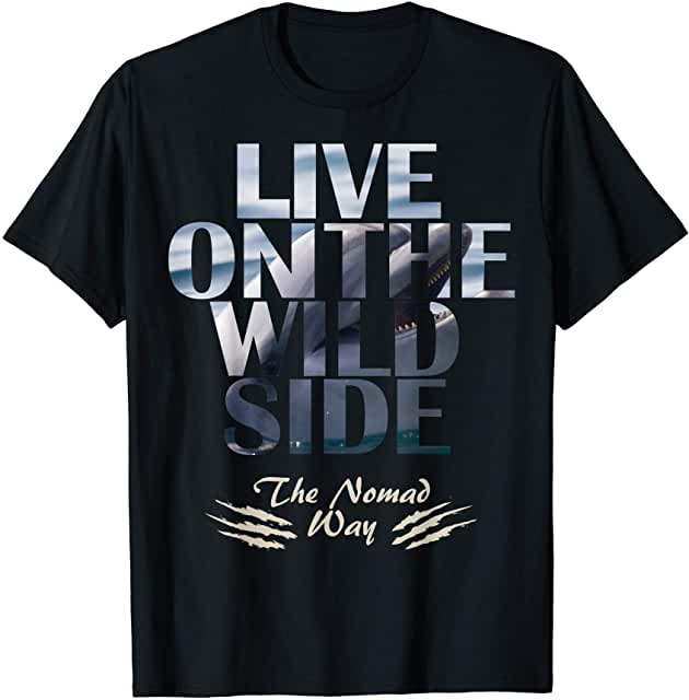 wild side Dolphin v2 ready BB v2 01 T shirt - Freedom Road Amazon Merch Nomad T-shirts