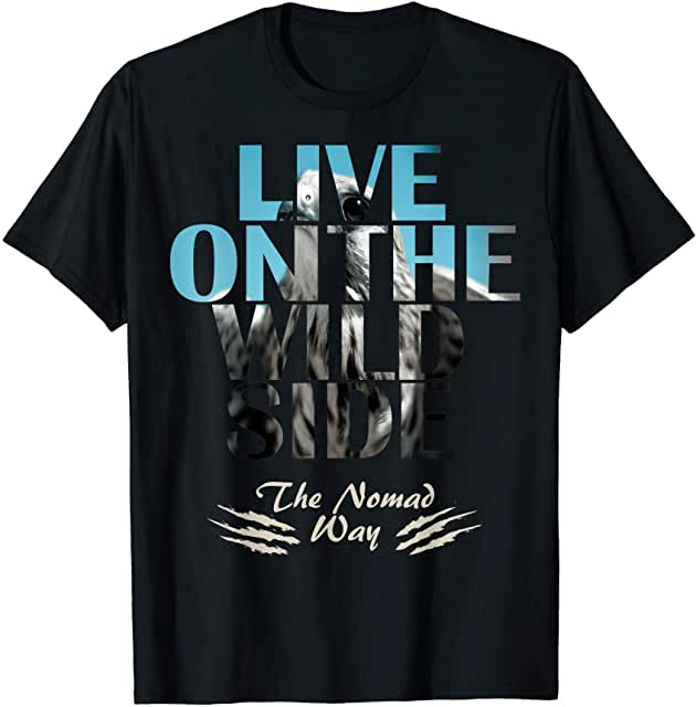 wild side Falcon ready BB 01T shirt - Freedom Road Amazon Merch Nomad T-shirts