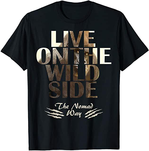 wild side Gorilla 3Ready T shirt - Freedom Road Amazon Merch Nomad T-shirts