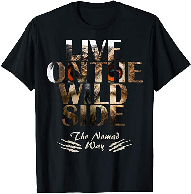 wild side Owl ready BB 01 T shirt - Freedom Road Amazon Merch Nomad T-shirts