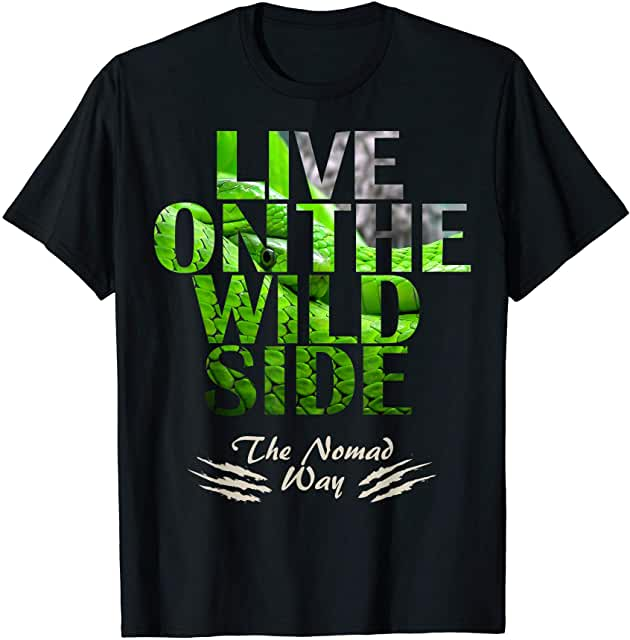 wild side Snake 2Ready T shirt - Freedom Road Amazon Merch Nomad T-shirts