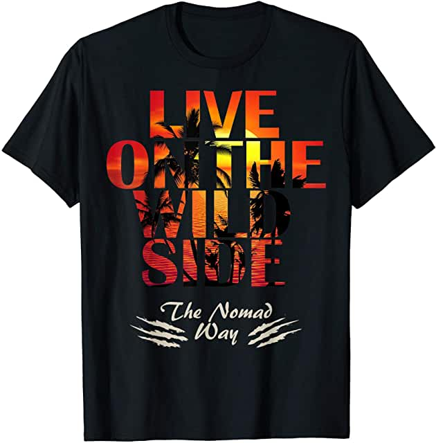 wild side Sunset Paradise 2Ready T shirt - Freedom Road Amazon Merch Nomad T-shirts