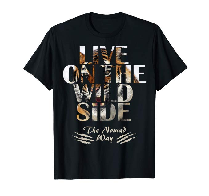 wild side Tiger v2 ready BB 01 T shirt - Freedom Road Amazon Merch Nomad T-shirts
